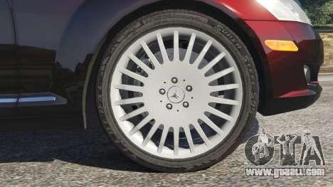 GTA 5 Mercedes-Benz S500 W221 v0.4 [Alpha] rear right side view