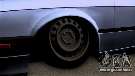 BMW M3 E30 Cabrio for GTA San Andreas back left view