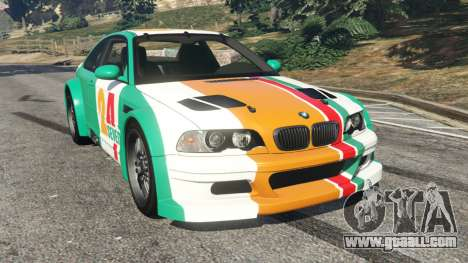 BMW M3 GTR E46 PJ3 for GTA 5