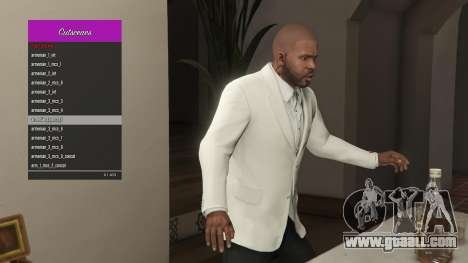 The Manager cut scenes for GTA 5