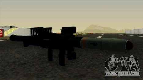 Homing Rocket Launcher for GTA San Andreas second screenshot