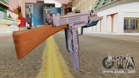 IMI Uzi v2 SA Style for GTA San Andreas second screenshot