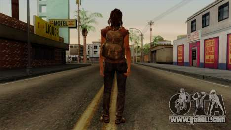 Tess from The Last of Us for GTA San Andreas third screenshot