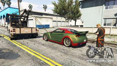 GTA 5 Call a tow truck v1.3 third screenshot
