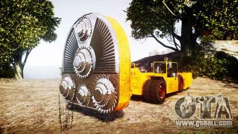 GTA V HVY Cutter for GTA 4