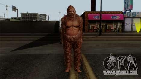GTA 5 Bigfoot for GTA San Andreas second screenshot
