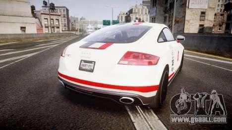 Audi TT RS 2010 Shelley for GTA 4 back left view
