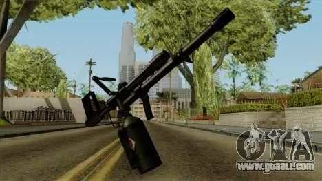 Original HD Flame Thrower for GTA San Andreas
