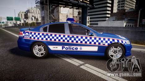 Holden VE Commodore SS Highway Patrol [ELS] v2.0 for GTA 4 left view