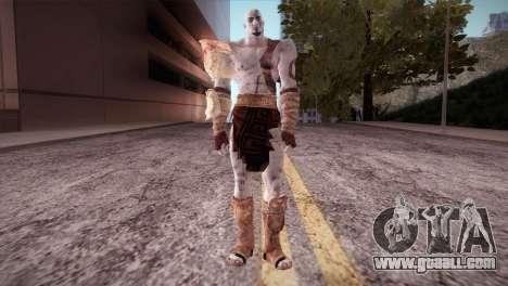God Of War 3 Kratos for GTA San Andreas
