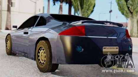 Mitsubishi Eclipse GSX SA Style for GTA San Andreas left view