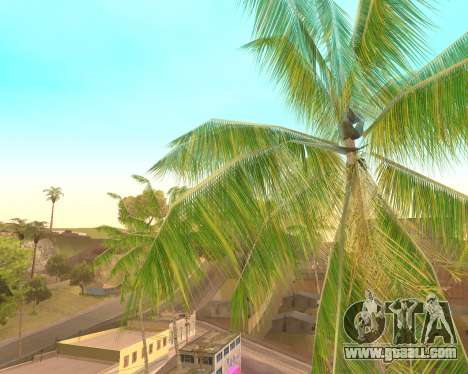Palm trees from Crysis for GTA San Andreas