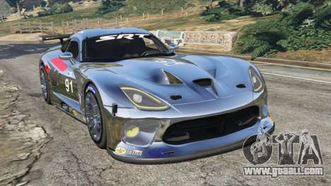 Dodge Viper GTS-R SRT 2013 [Beta] for GTA 5