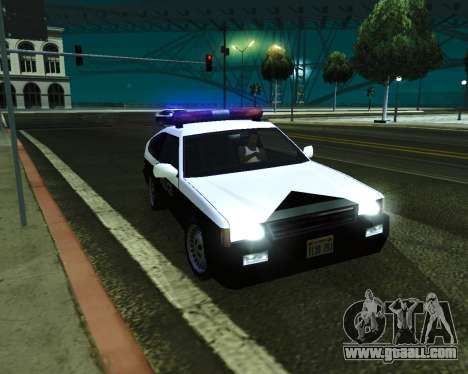 Japanese Police Car Blista for GTA San Andreas right view