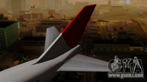 Boeing 747 JAL for GTA San Andreas back left view
