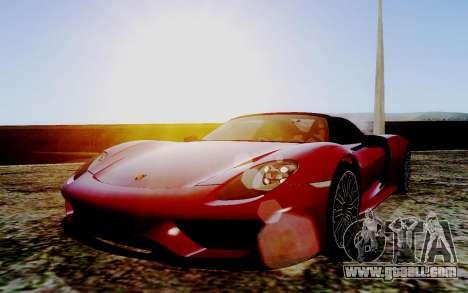 ENB Series HQ Graphics v2 for GTA San Andreas third screenshot