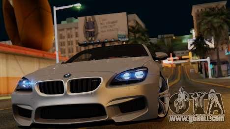 BMW M6 2013 v1.0 for GTA San Andreas wheels