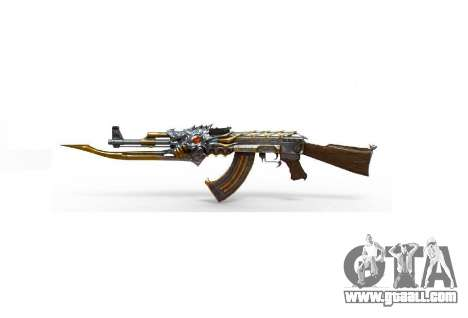 GTA 5 AK-47 Beast third screenshot