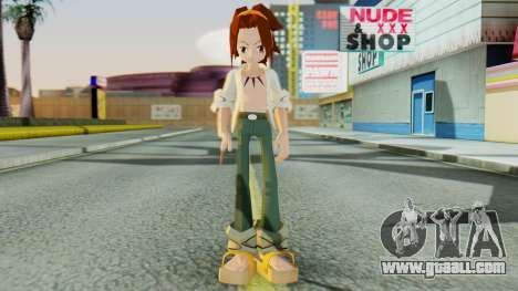 Yoh Asakura for GTA San Andreas second screenshot