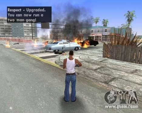 Blood Effects for GTA San Andreas sixth screenshot