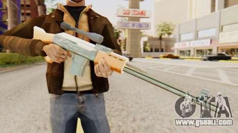 Zastava M76 for GTA San Andreas third screenshot
