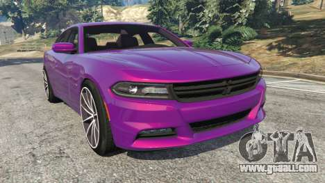 Dodge Charger RT 2015 v1.1 for GTA 5
