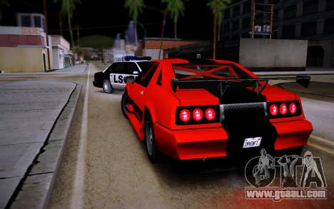 Buffalo GTR for GTA San Andreas left view