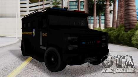 GTA 5 Enforcer Raccoon City Police Type 2 for GTA San Andreas