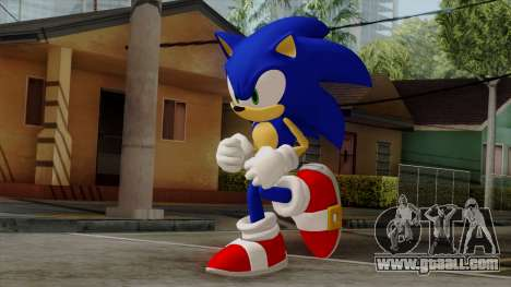 Sonic the Hedgehog HD for GTA San Andreas