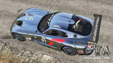 GTA 5 Dodge Viper GTS-R SRT 2013 [Beta] back view