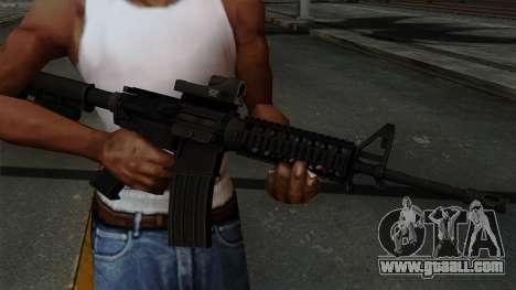 AR-15 Elcan for GTA San Andreas third screenshot