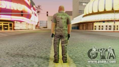 [GTA5] BlackOps2 Army Skin for GTA San Andreas third screenshot
