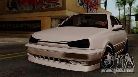 Volkswagen Golf 3 Shine for GTA San Andreas