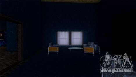 Retextured interior of the mansion MADD Dogg for GTA San Andreas seventh screenshot