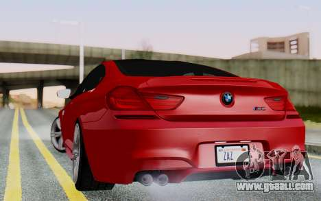 BMW M6 2013 v1.0 for GTA San Andreas left view
