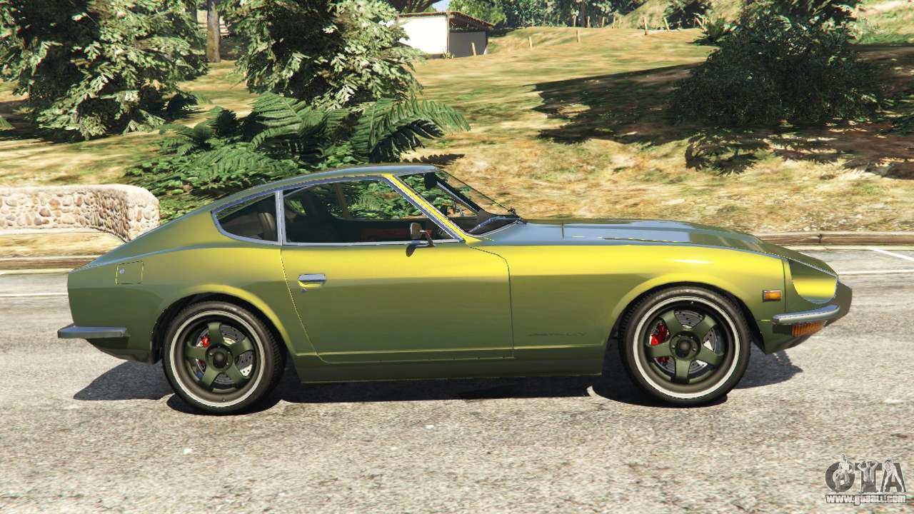 datsun 240z for gta 5. Black Bedroom Furniture Sets. Home Design Ideas