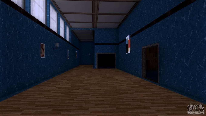 Retextured interior of the mansion madd dogg for gta san for Gta sa plane interior mod