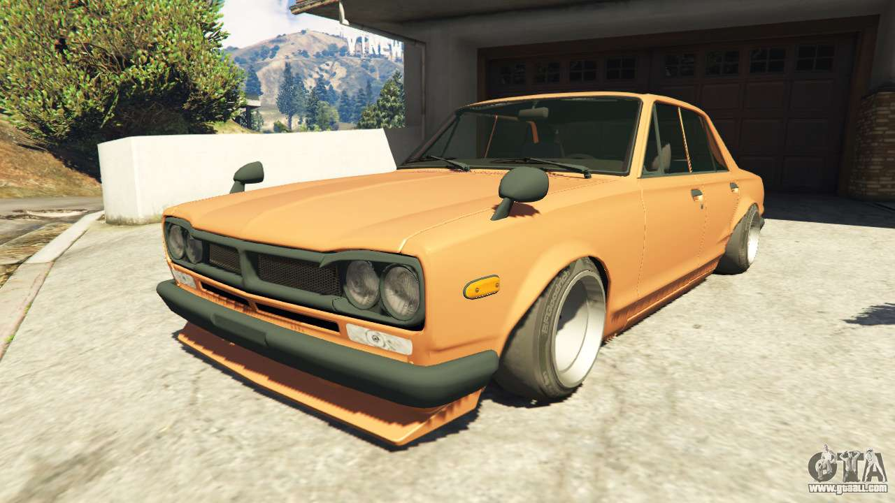 nissan skyline 2000 gt r 1970 v0 1 beta for gta 5. Black Bedroom Furniture Sets. Home Design Ideas