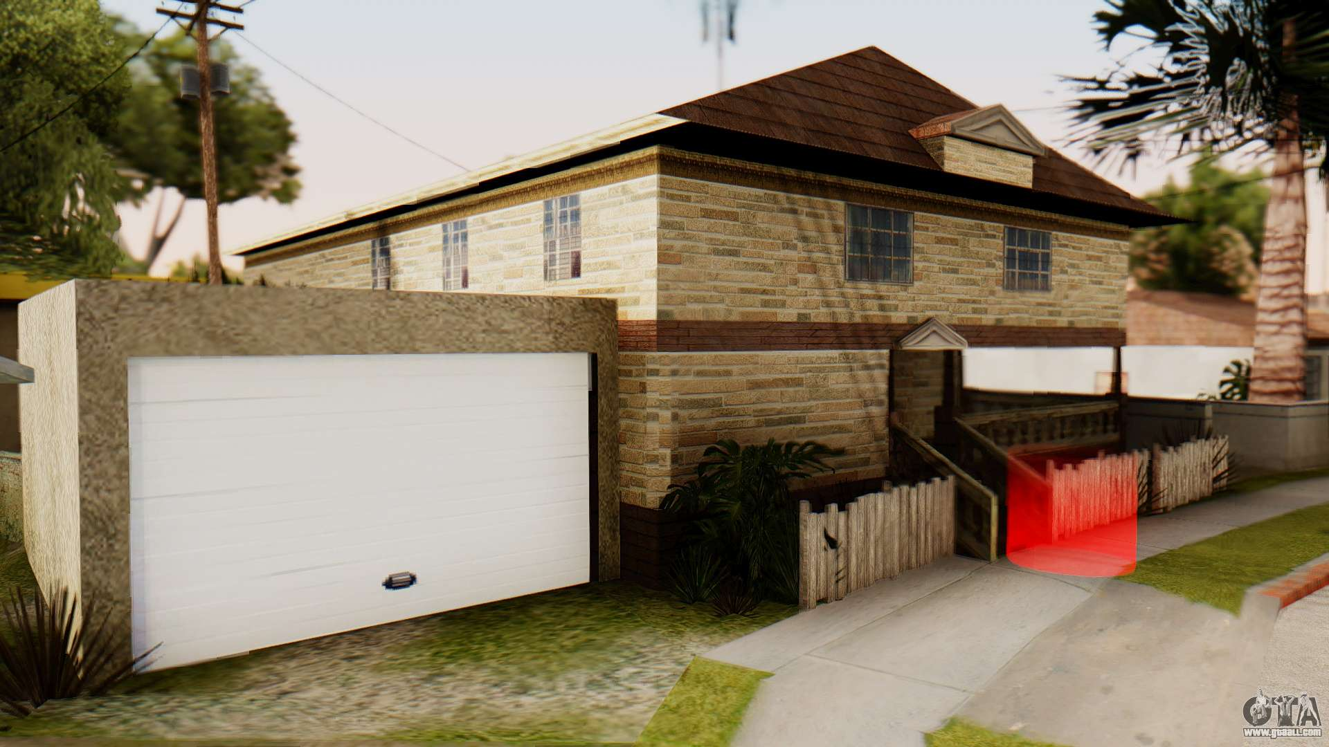 New house for cj for gta san andreas for New house