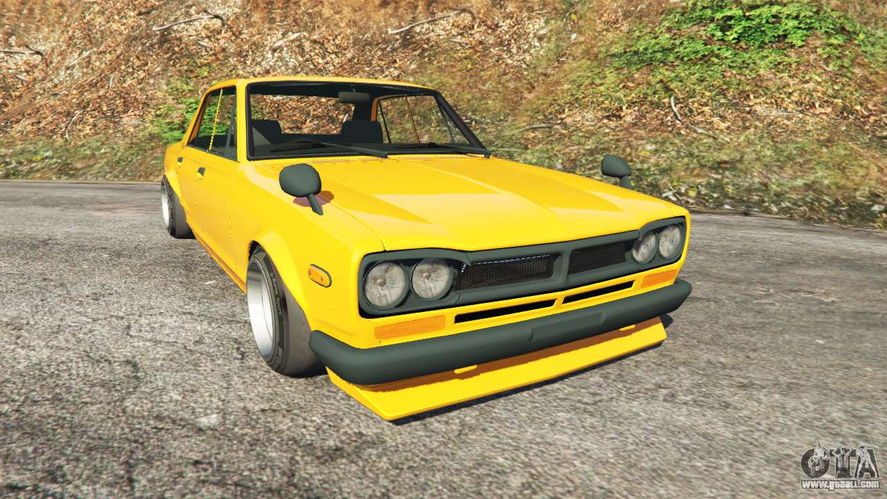 nissan skyline 2000 gt r 1970 v0 3 beta for gta 5. Black Bedroom Furniture Sets. Home Design Ideas