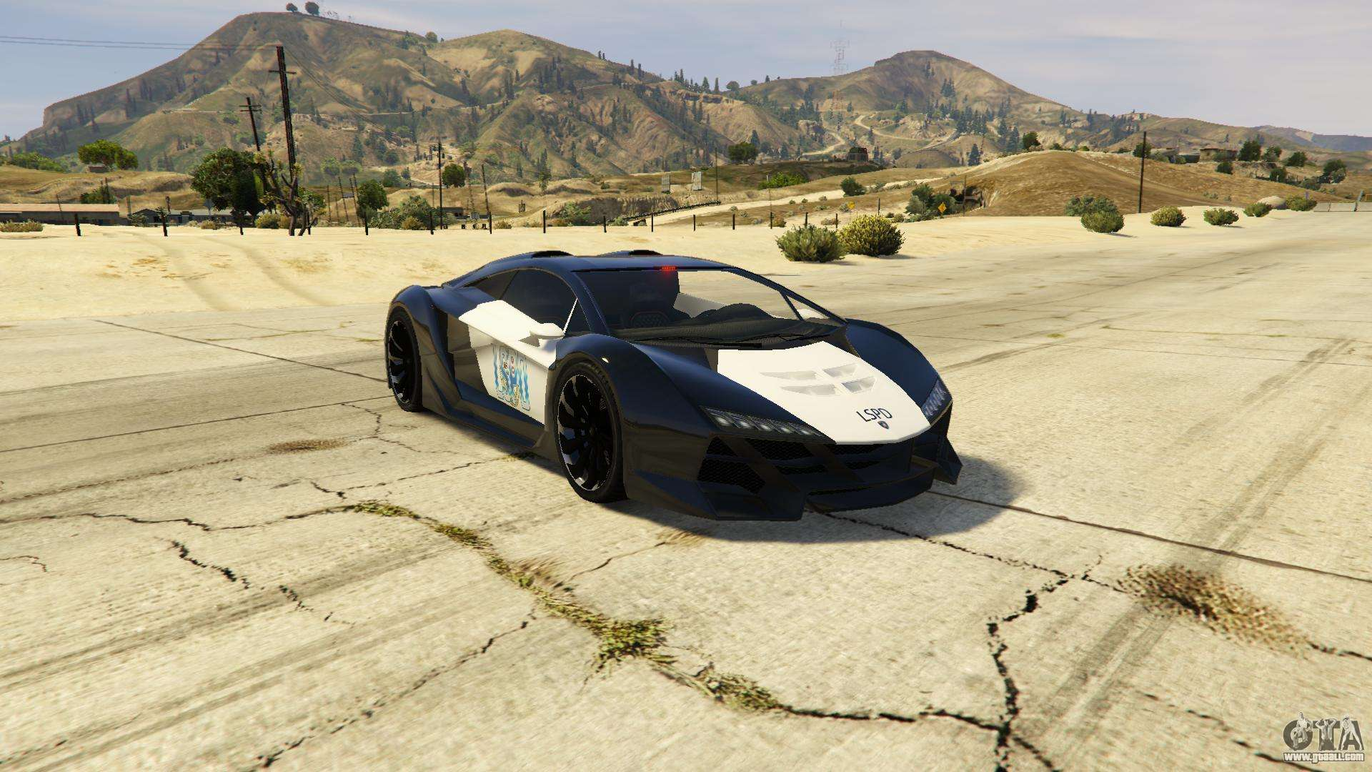 lamborghini police zentorno lspd v3 0 for gta 5. Black Bedroom Furniture Sets. Home Design Ideas