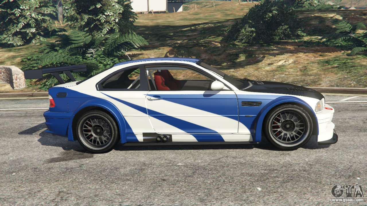 Bmw M3 Gtr E46 Most Wanted V1 2 For Gta 5