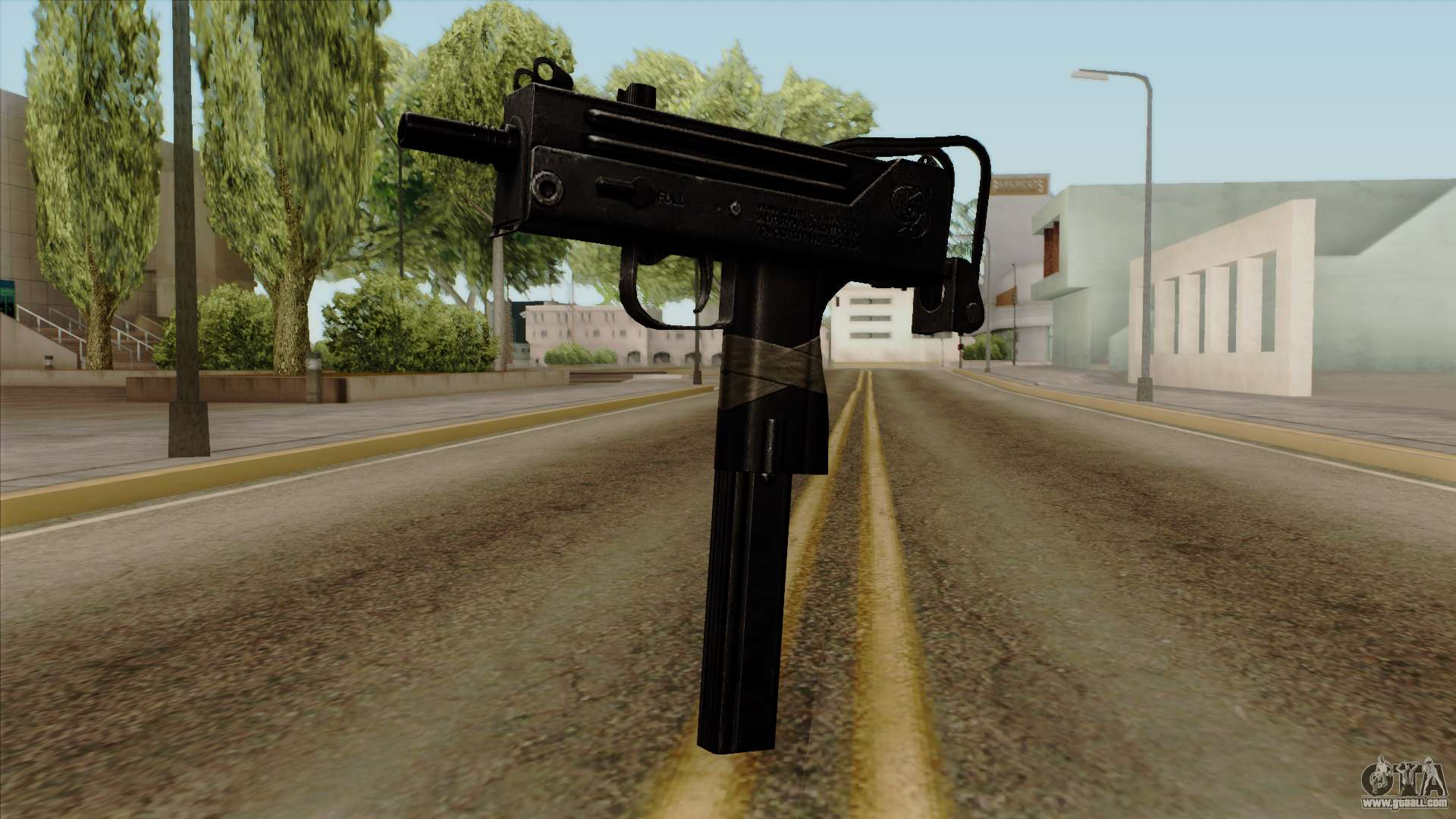 Original Hd Micro Smg For Gta San Andreas