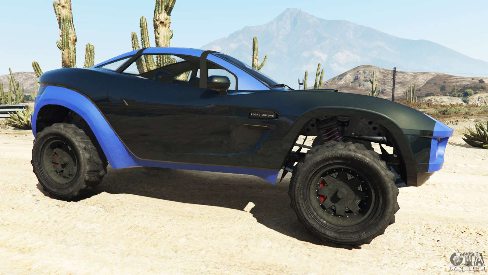 Local Motors Rally Fighter >> Coil Brawler Local Motors Rally Fighter for GTA 5