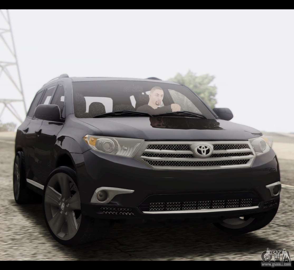 Pictures Of Toyota Highlander: Toyota Highlander 2011 For GTA San Andreas