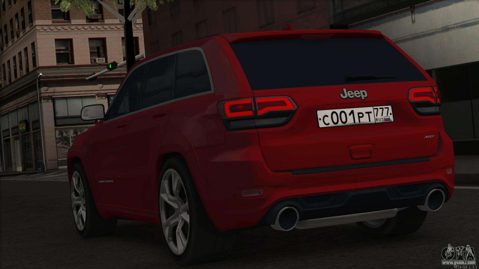 jeep grand cherokee srt8 for gta san andreas. Black Bedroom Furniture Sets. Home Design Ideas