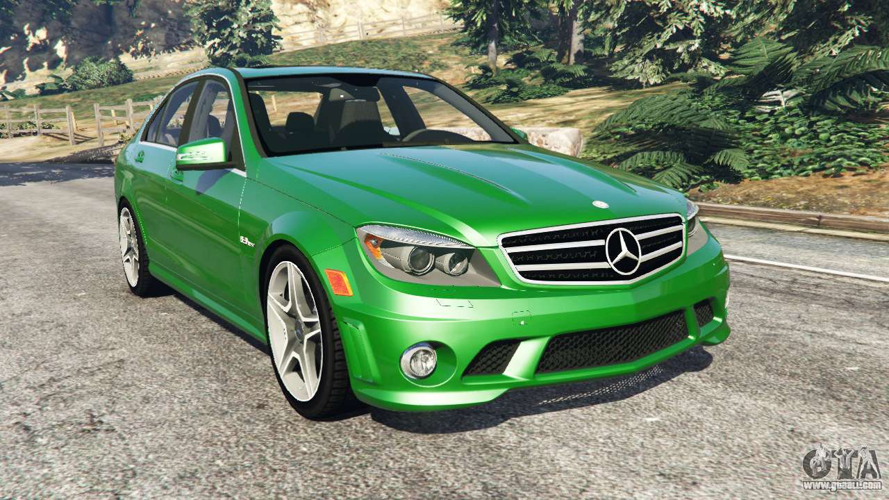 Mercedes benz c63 w204 amg for gta 5 for Mercedes benz w204