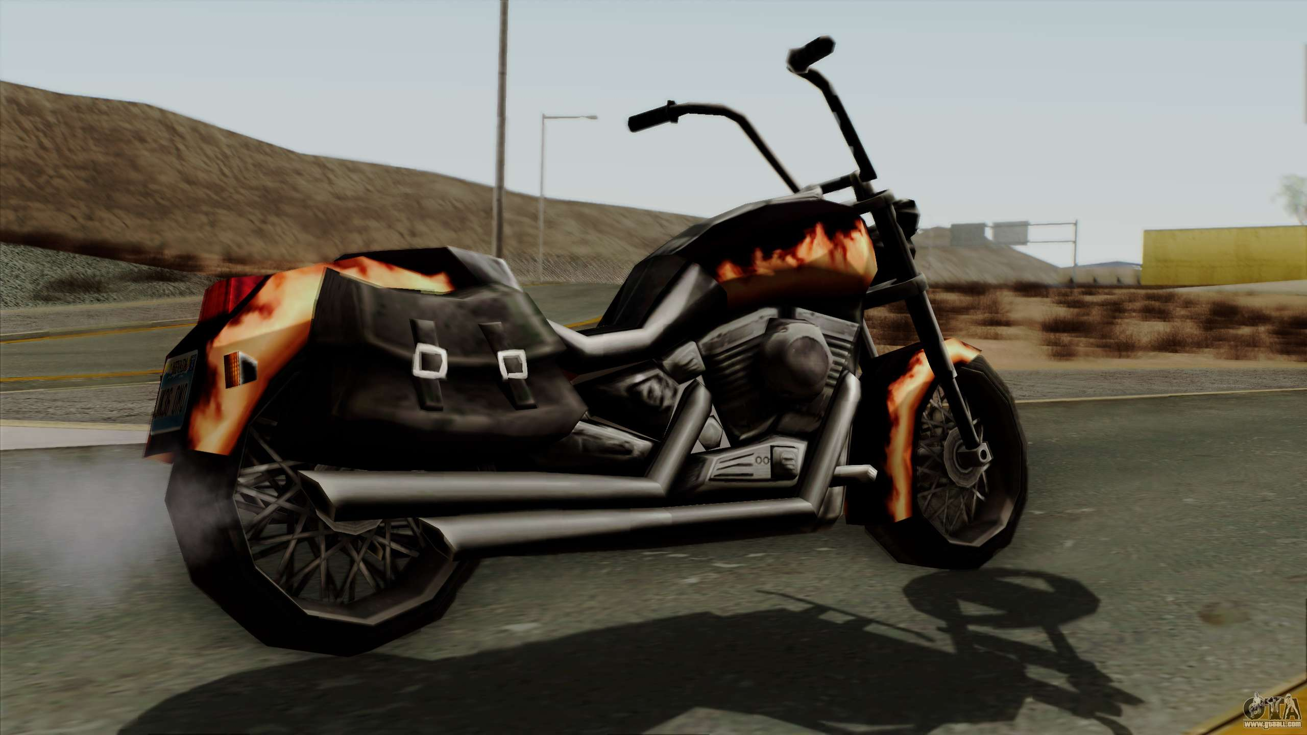 Freeway Diablo For Gta San Andreas