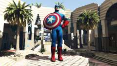 Statue Captain America for GTA 5