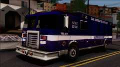 FDSA Hazardous Materials Squad Truck for GTA San Andreas